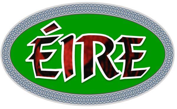 Eire Decal (Irish Made)