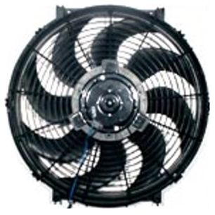 Stuff 24 volt radiator fan for 24 volt fan motor