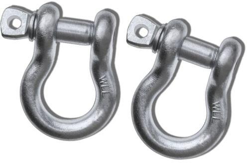 """1""""    Mega D-Ring Shackles � Imp (Pair)"""""""